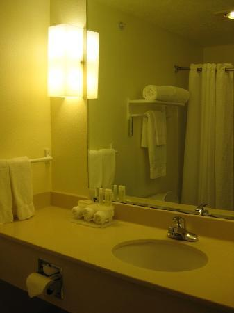 Comfort Inn & Suites Walla Walla: bathroom was very clean