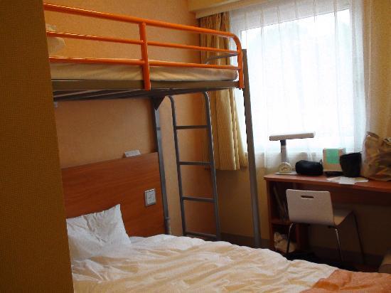 チサンイン軽井沢, ホテルの部屋(ロフト付き)