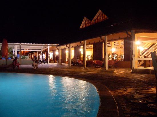 Andilana Beach Resort: la sera..