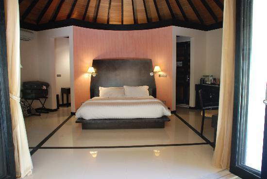 The Sun Siyam Iru Fushi Maldives: La chambre.