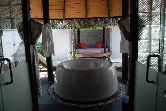 The Sun Siyam Iru Fushi Maldives: La salle de bain...