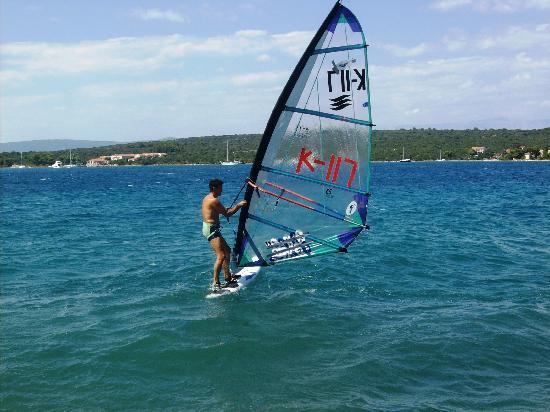 Pension Gradina: Sportangebote wie Surfen, Segeln, Fahrrad fahren