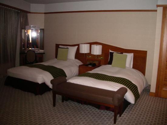 Meguro Gajoen : ベッド部分。