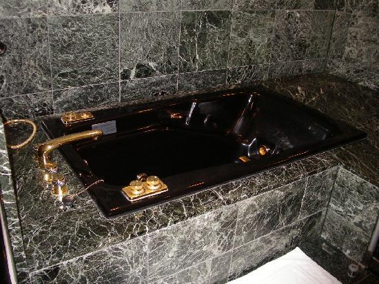 Meguro Gajoen: ゴージャスな浴槽です。