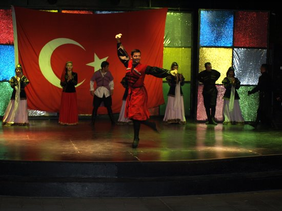 Kaya Belek Hotel: entertainmenet in ampitheather
