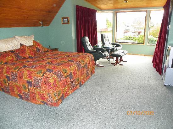 Te Waka Lodge: Habitacion
