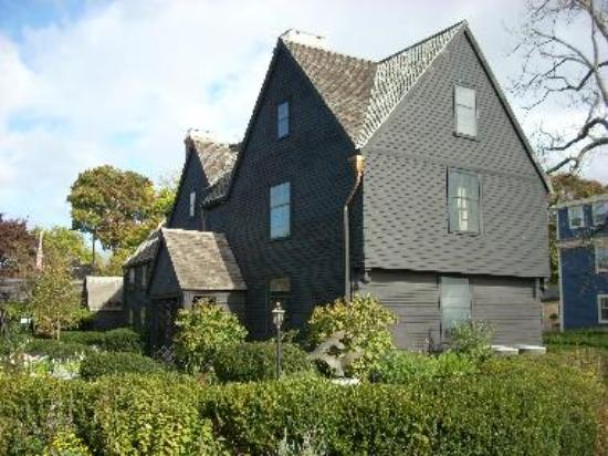 The seven gables give the name to this house built in 1668.