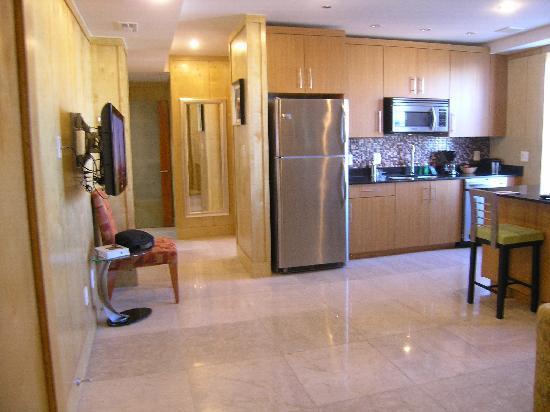 Kitchen Hallway Picture Of The Eldon Luxury Suites