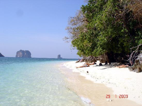 Strandbild från Poda Island - Picture of Ao Nang, Krabi Town - TripAdvisor