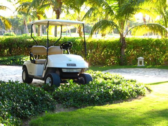 Tortuga Bay Hotel Puntacana Resort & Club: Personal golf cart