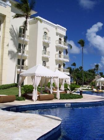 Iberostar Grand Hotel Bavaro : Get to the pool early in the day to lay claim to a cabana with a bed.