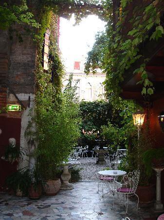 Jardin picture of hotel flora venice tripadvisor for Jardines venecia
