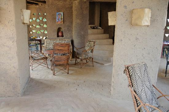 Hotel Djenne Djenno: pleasant outdoor space