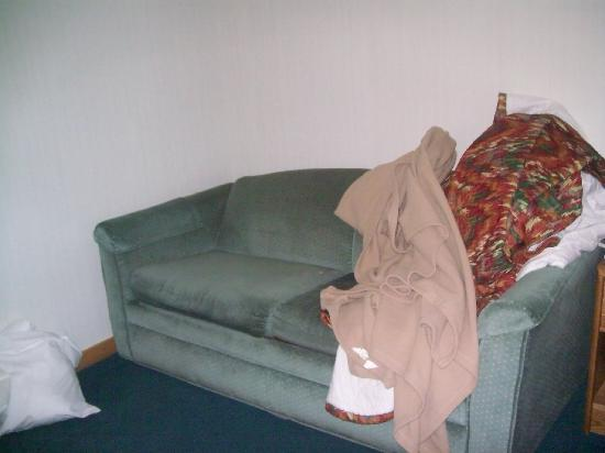 Baymont Inn & Suites Grand Haven : The diry smelly couch