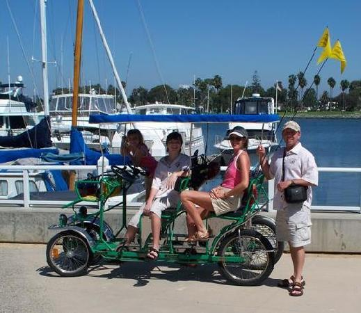 Surrey Bike Rental At The Del Picture Of Hotel Del Coronado
