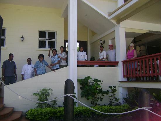 Bedarra Beach Inn: fijian farewell