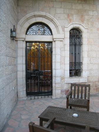 The American Colony Hotel : Pasha suite private patio (1st floor)