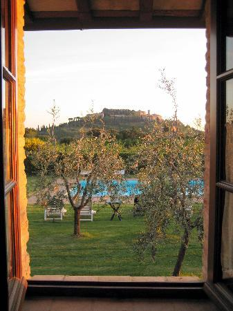 La Frateria di San Benedetto: View from bedroom window