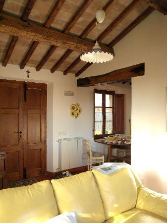 La Frateria di San Benedetto: Living room of annex