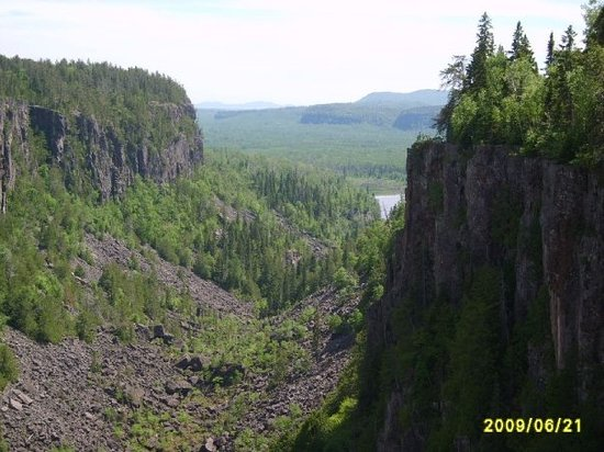 Ouimet Canyon Provincial Park: Ouimet Canyon, ON