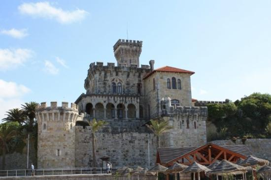 Estoril, Portugal : a castle owned by the royal family of Monaco