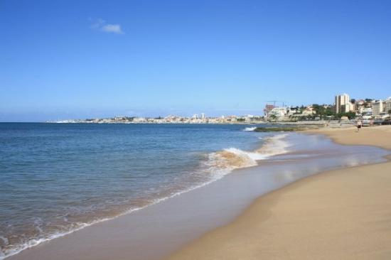 Tamariz Beach: empty beach with super soft sand!
