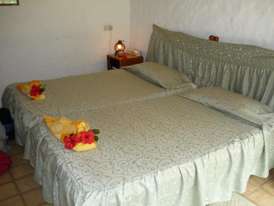 Villa Flamboyant: The bed