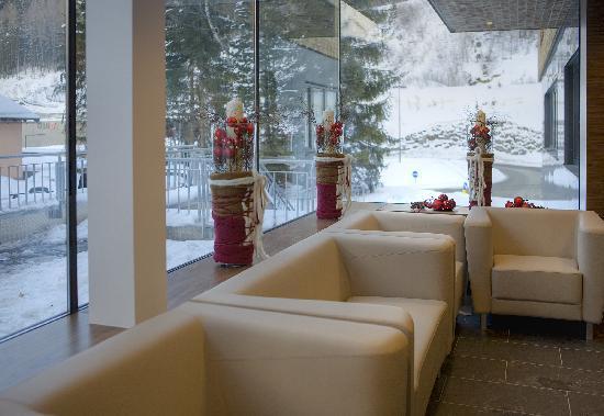 Pepis Skihotel: Reception/Eingang