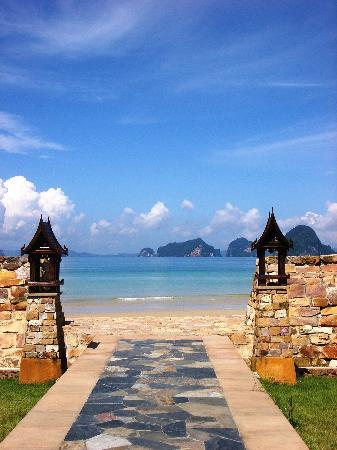 Amari Vogue Krabi: Another view from beach