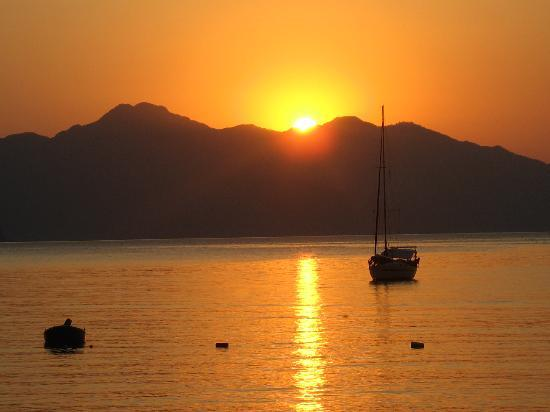 Ozcan Hotel: best bit sunrise