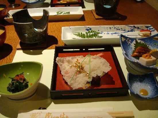 Shimobe Hotel: 夕飯