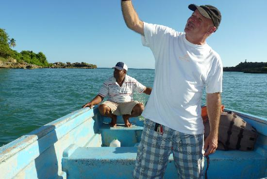 """Punta Cana Mike's Private Dominican Adventure: Mike and """"Cappy"""" on the tour of the Yuma"""