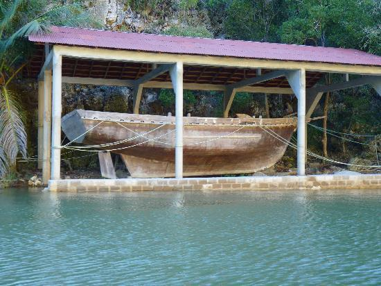 Punta Cana Mike's Private Dominican Adventure: Salvaged remains of Cofresi's Schooner