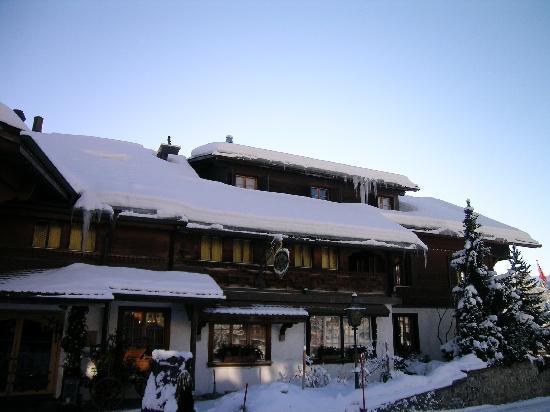 Hotel Alpenrose: ingresso alpenrose