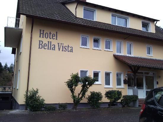 Hotel Bella Vista : Outside, taken from parking lot