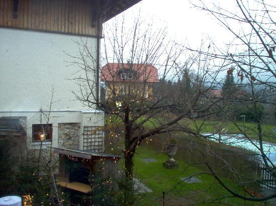 Romantik Hotel GMACHL: View from window