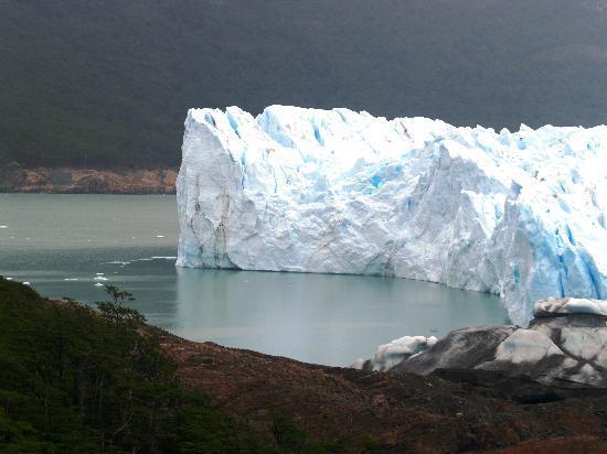 Patagonia, Arjantin: pared de hielo perito moreno