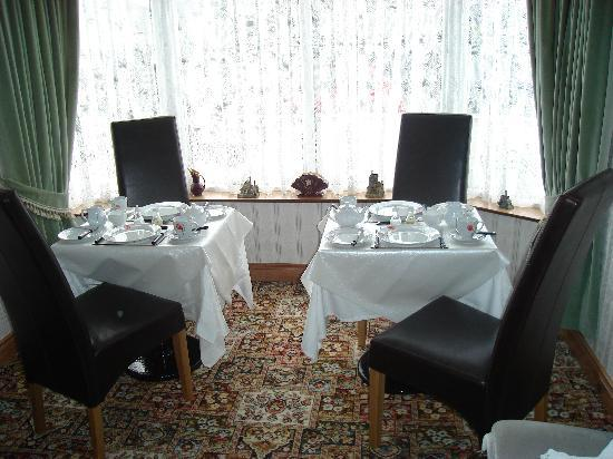 Amble In B&B: Trassey Dining Room