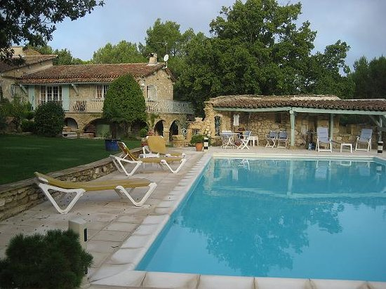 Rognes, France: general look from the pool