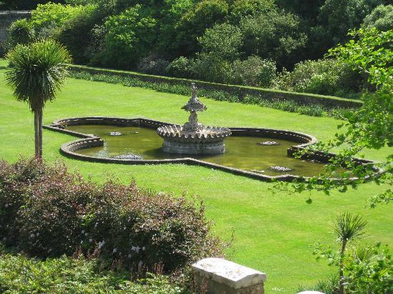 Culzean Castle and Country Park: Der Springbrunnen