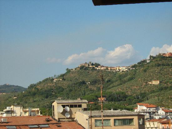 Hotel Massimo D'Azeglio: View from our balcony