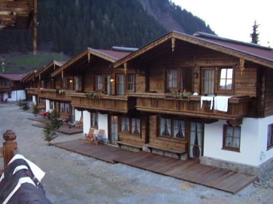 Ferienhof Brugger: Uitzicht vanop 't terras