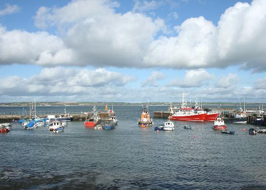 Ballycotton - Boats in the little harbour