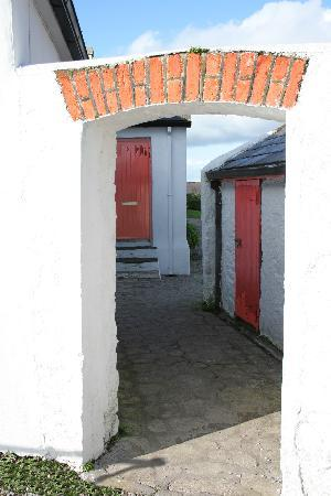 Ballycotton - Village cottage gateway