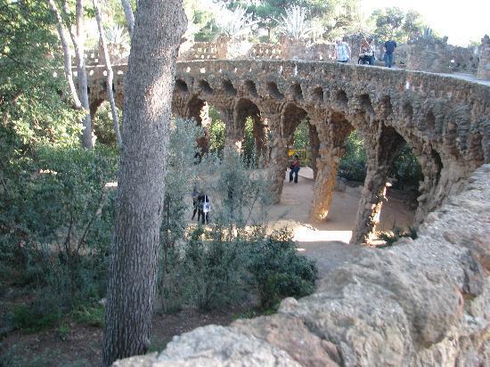 Barcelona, Spanien: Park Guell - Gaudi