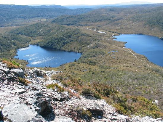 Peppers Cradle Mountain Lodge: View from Marion's Lookout