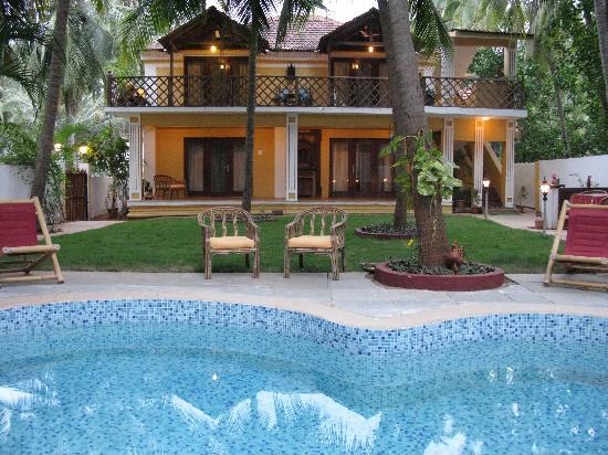 ‪‪Casa Candolim‬: Casa Candolim, View of Pool View Suites‬
