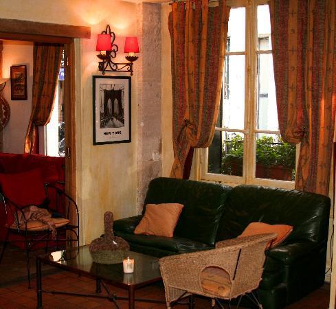 Hotel de la Tulipe Tour Eiffel: Empfangsbereich