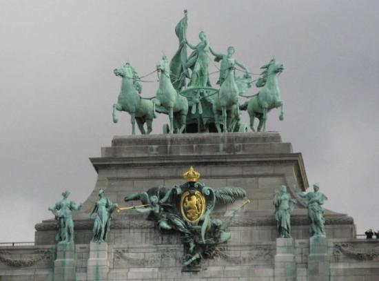Parc du Cinquantenaire: Brussels - Belgian Arc de Triomphe