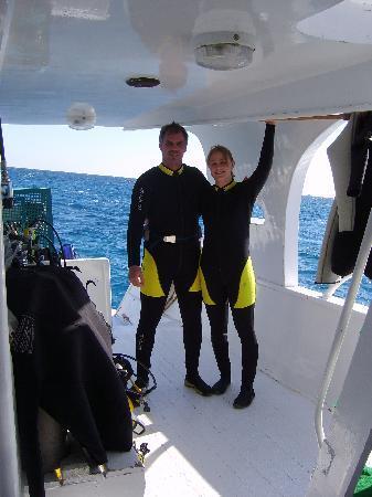 Prince Diving : preparing for diving